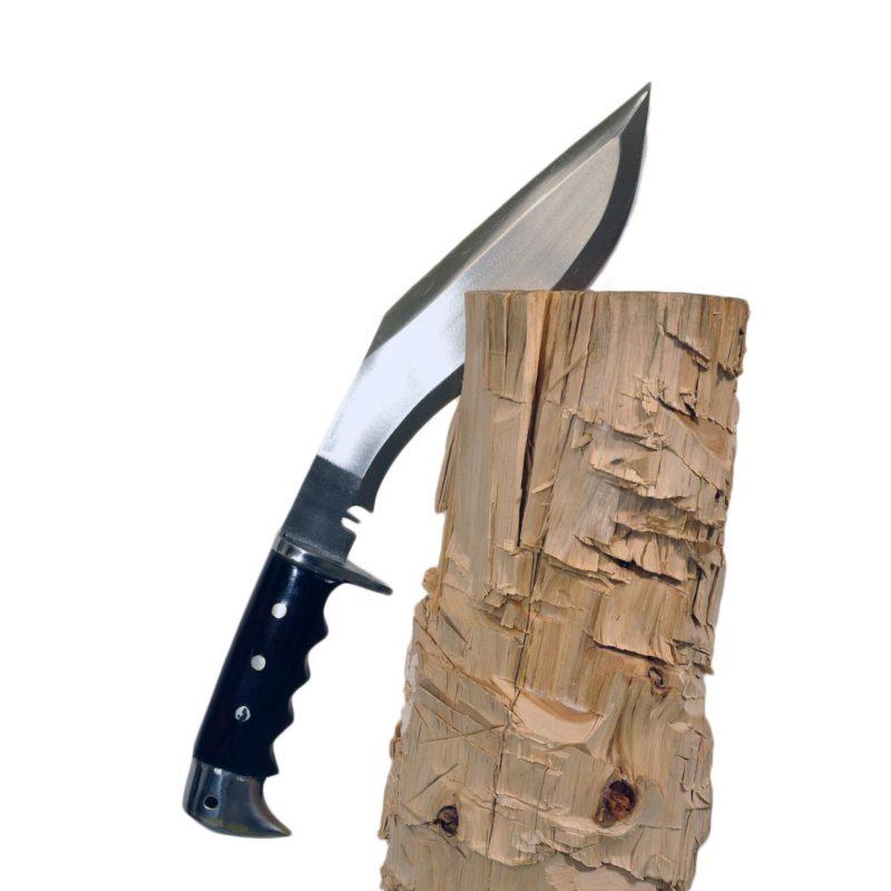 10 Inch Chukuri Gripper Handle Hand Forged Full Tang Kukri