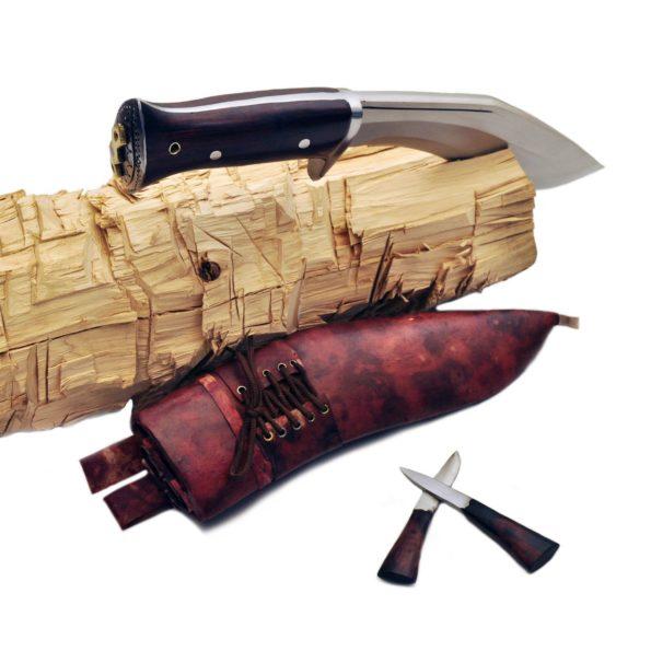 11 Inch Hand Forged Blade Afghan Blocker Handle Kukri