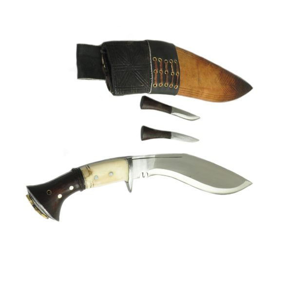 12 Inch Itihass Wood and Bone Handle Kukri