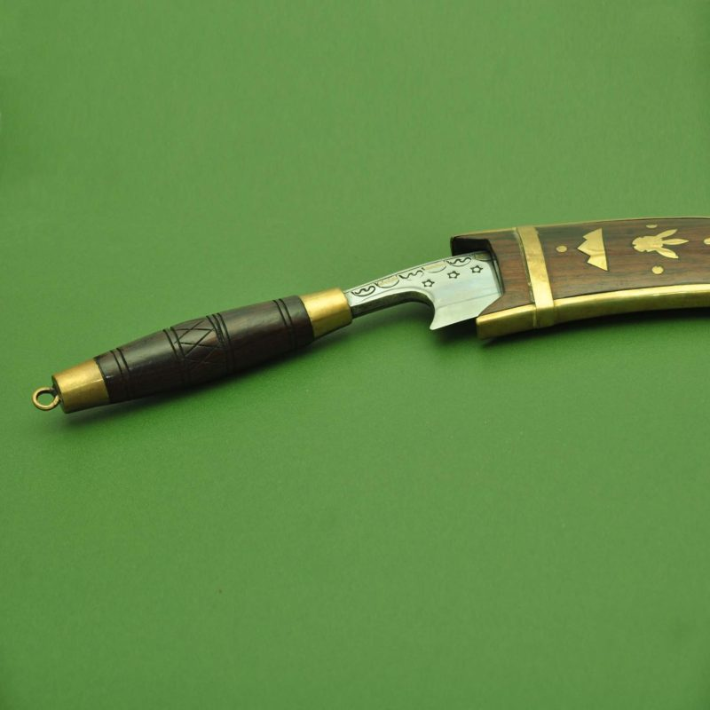 Ladies Knife Wooden Handle Khurmi