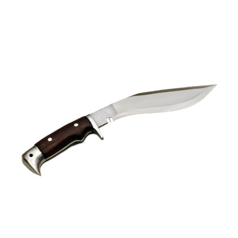 8 Inch American Eagle Hand Forged Wood Handle Kukri