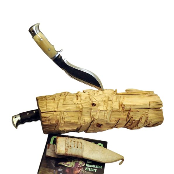 8 Inch Dragon Eagle khukuri Bone Handle