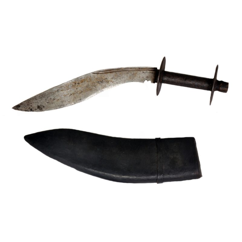10 INCH ANTIQUE KUKRI