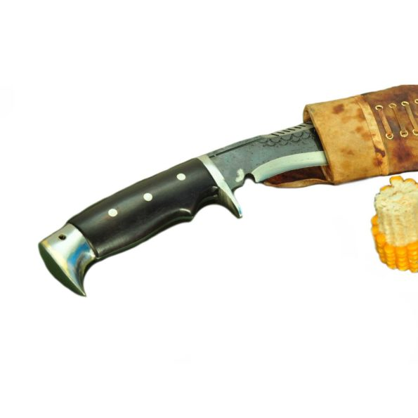 11 Inch American Eagle Hand Forged Black Blade Dragon Kukri