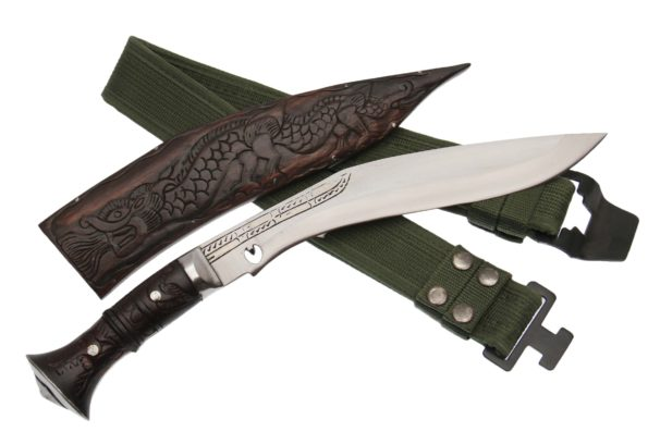 10 Inch Chitlange Khukuri With Wooden Sheath