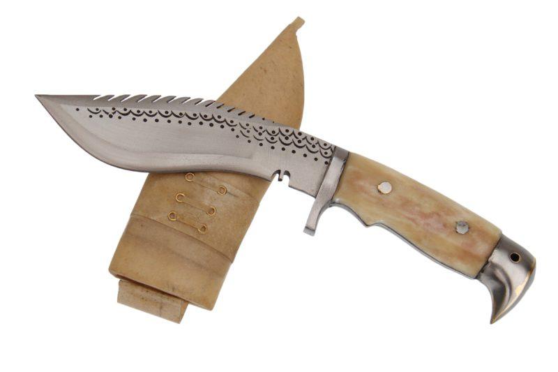 6 Inch American Eagle Bone Handle Dragon Khukri