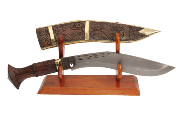 10 Inch Dhankutte Khukri With Wooden Sheath