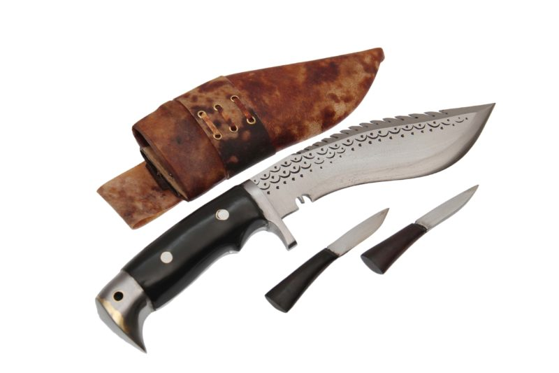 6 Inch American Eagle Wooden Handle Dragon Khukri